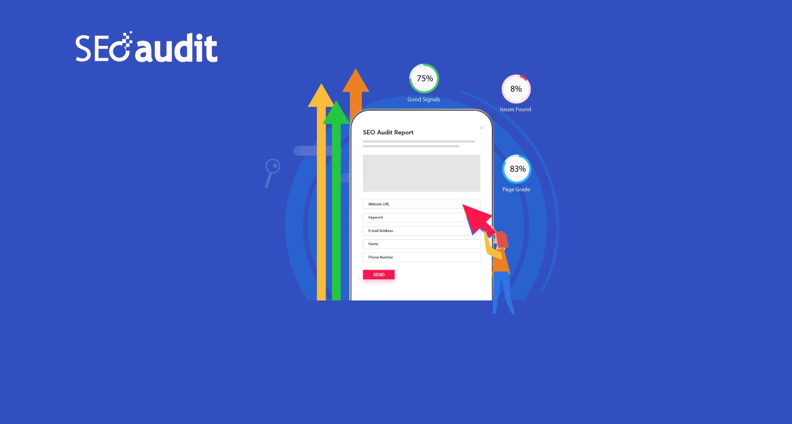 Embeddable SEO Audit Widget for Website